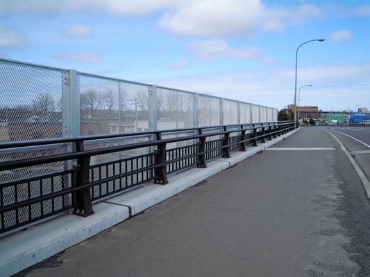 北海道 あいの里跨線橋