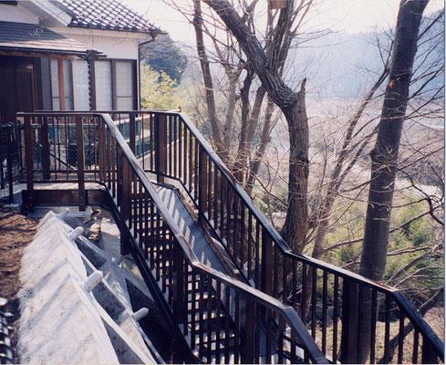 羽西急傾斜階段 東京都