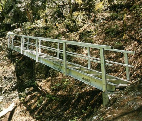 昇仙峡階段 山梨県