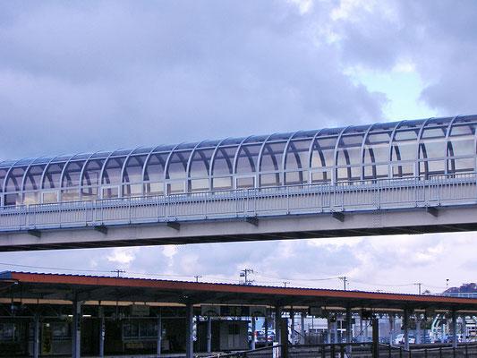 洞爺駅自由通路/北海道