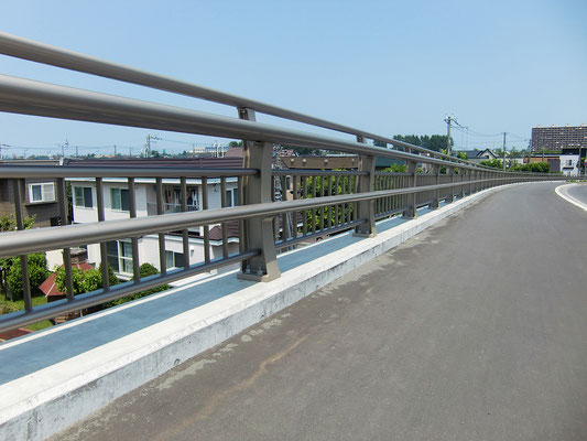 曲長跨線橋/北海道
