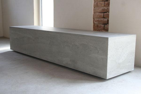 beton , lowboard , sideboard , tv-rack , tv-bank , modern , stein , naturstein , schlicht , zeitlos , design , wohnzimmer , grau , dunkelgrau , antrazit, schwarz , individualisierbar