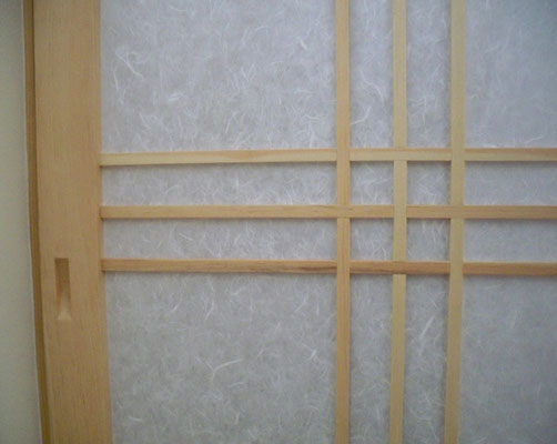 shoji screen door detail