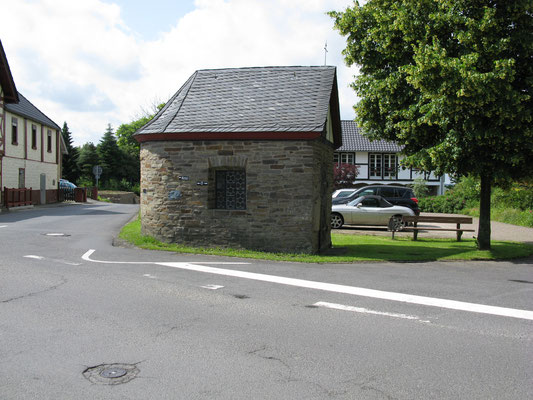 Agatha-Kapelle; Paten: Maria und Peter Krey