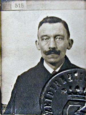 August Rabenholdt, Klempner, Mitglied des Rates ab April 1919, SPD-Mitglied, 1919. StA Göttingen