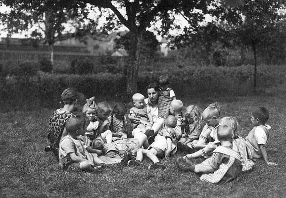 Freidenker/ISK – Kindergarten, September 1928. AdsD/Friedrich-Ebert-Stiftung