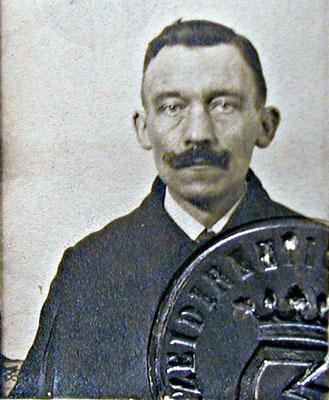 August Rabenholdt, Klempner, SPD-Mitglied, 1919. StA Göttingen