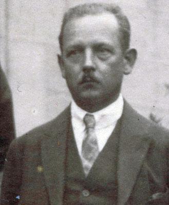 Franz Arnholdt (1885-1951), Metallarbeiter, USPD bis 1922, 1926. StA Göttingen