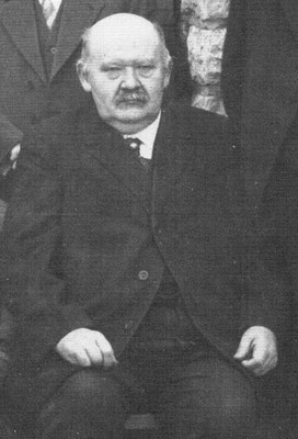 Wilhelm Stegen (1862-1935), SPD, Mitglied des Rates im November 1918, 1929. Sammlung Dr. Jochim Bons.