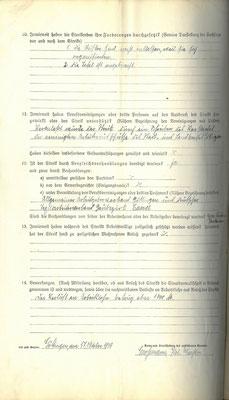 S. 2: Die Forderungen lauteten: Entlassung der nicht gewerkschaftlich organisierten Meister sowie die Anbringung einer Anschlagtafel für die Bekanntmachungen der Arbeiterschaft. StA  Göttingen