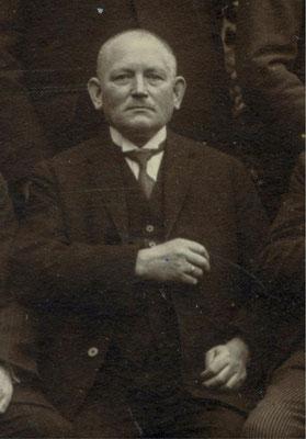 Der Zigarrenhändler Fritz Wedemeyer (1863-1951) gehörte zur Fraktion der Mehrheitssozialdemokraten. Städtisches Museum Göttingen
