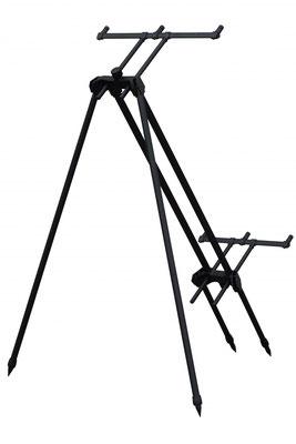 Aufbau mit 2 Standart und 2 langen Beinen vorn