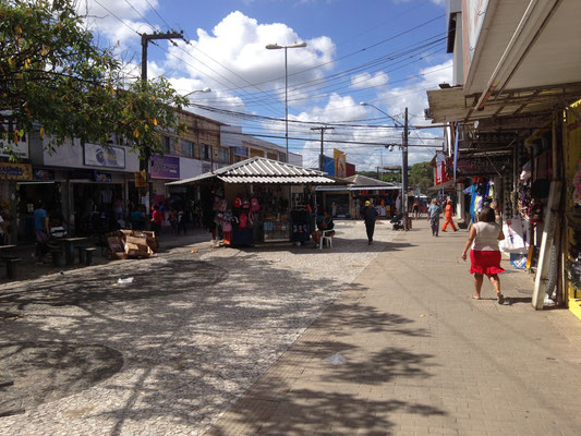 Einkaufsstrasse von Camaragibe