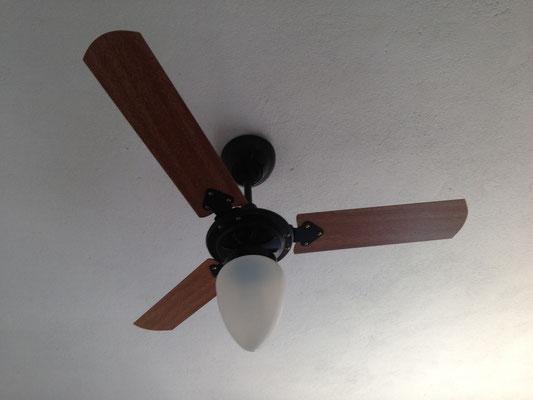 Unser neuer Ventilator im Wohnzimmer