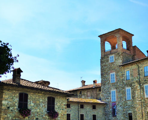 Nella sala del Castello Anguissola. Le illustrazioni sono ospitate all'interno della mostra GIANA TRA LE RIGHE - aperture dal martedì al giovedì dalle ore 20.30 alle 23 - sabato e domenica dalle 10.00 alle 13.00 e dalle 18,00 alle 21.00 - al venerdì dalle