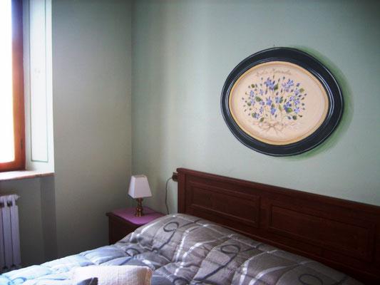 Monza - camera da letto a trompe l'oeil