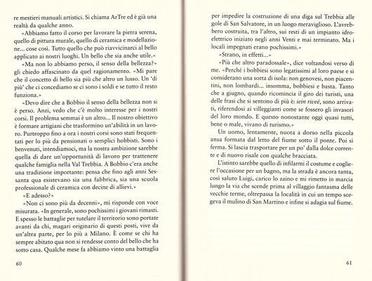 """NEL REGNO DI BALENA. estratto dal libro di Riccardo Finelli """"Il cammino dell'acqua"""" a piedi da Milano a Roma lungo il corso dimenticato dei fiumi. edito da Sperling & Kupfer ©"""