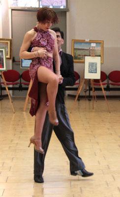 Alejandro Pereira e Vanesa Lamis a DIARA con il loro Tango