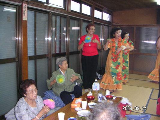 2004年8月24日 高齢者清遊会 御園自治会館