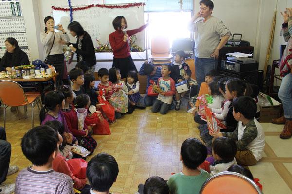 2015어린이 크리스마스  2015年12月19日  支部会館