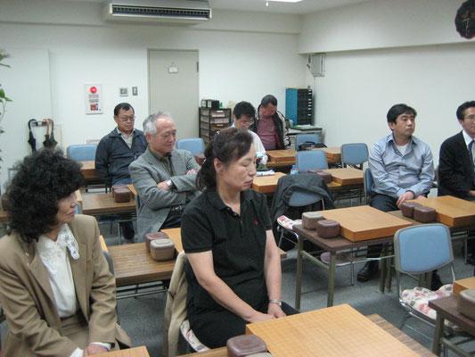 2009年07月28日 支部主催囲碁教室 蒲田駅西口「石定囲碁教室」
