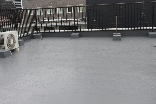 支部会館防水工事完了 2015年02月11日