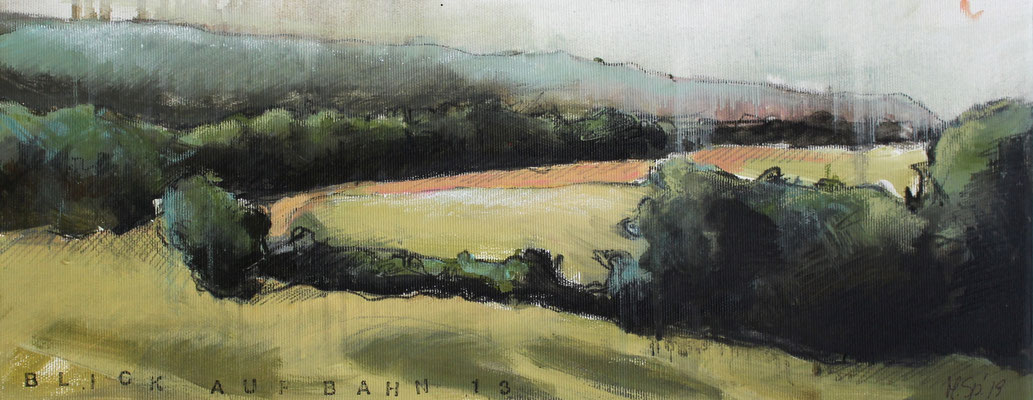 Landschaft IV / Golf, 20/50 cm, 2019