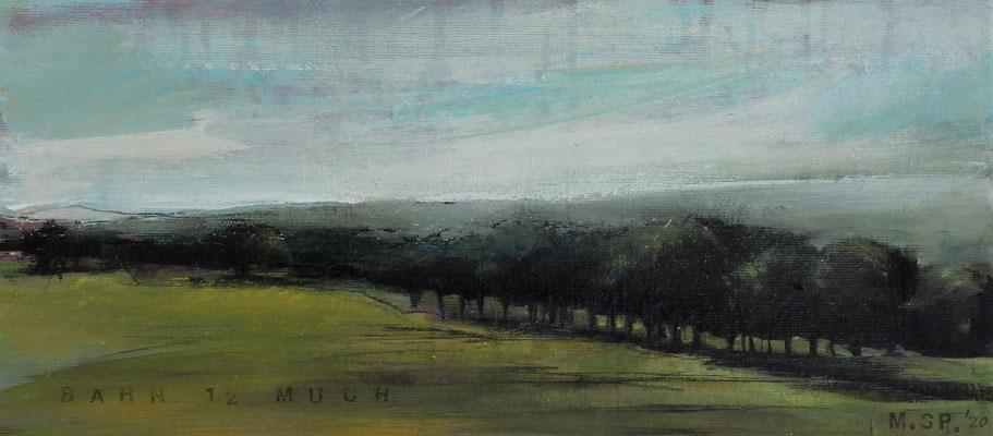 Landschaft II / Golf, 20/45 cm, 2020
