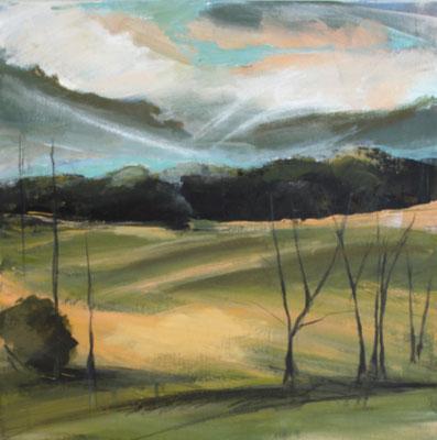 Landschaft XII / Golf, 40/40 cm, 2020