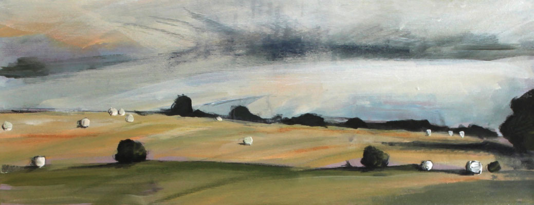 Landschaft VI / Golf, 20/50 cm, 2020