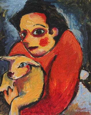 nach A. v. Jawlensky, Original ohne Schaf