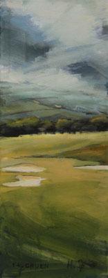 Landschaft XVII / Golf, 45/18 cm, 2020