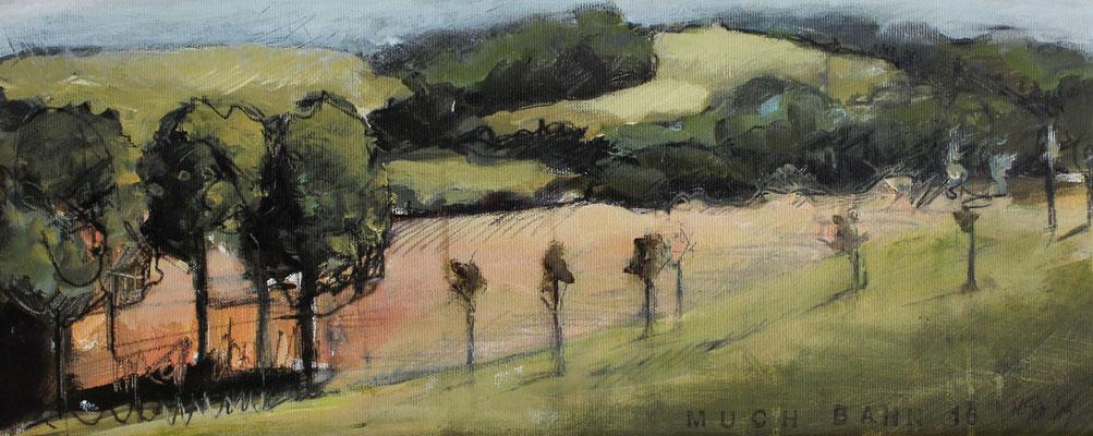 Landschaft V / Golf, 18/45 cm, 2019
