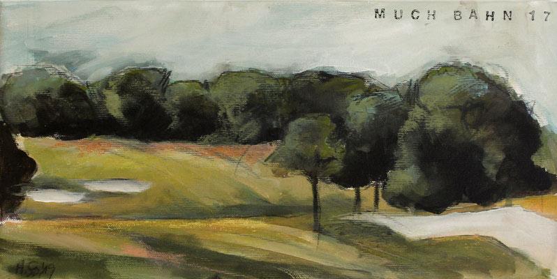 Landschaft IX / Golf, 20/40 cm, 2019