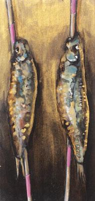Pappfisch V, 14/29 cm, 2017