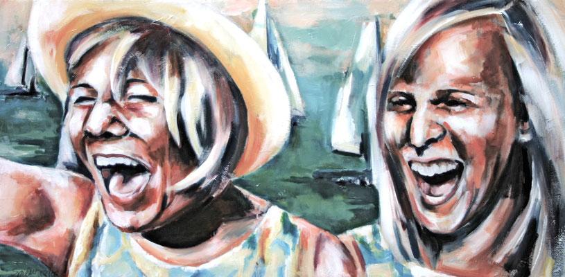 Seglerinnen, 50/100 cm, 2006