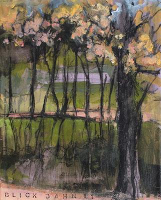 Landschaft XV / Golf, 30/24 cm, 2019