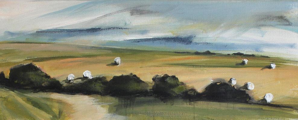 Landschaft VII / Golf, 18/45 cm, 2020