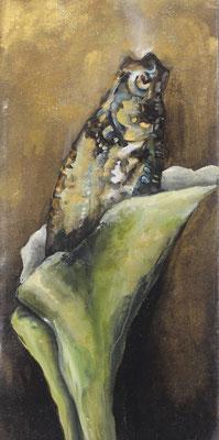 Pappfisch VI, 14/29 cm, 2017