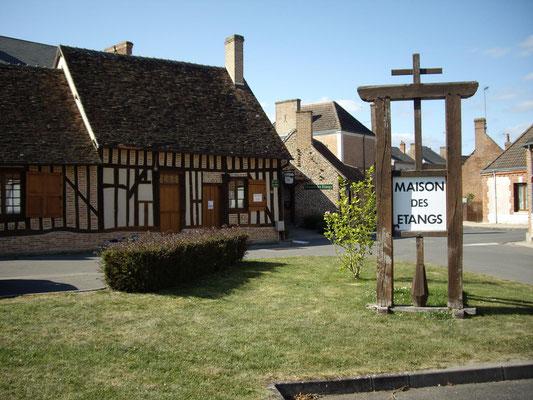 Le Champ du Pré - Chambre d'hôtes Sologne Val de Loire - A visiter : La Maison des Étangs de Saint-Viâtre