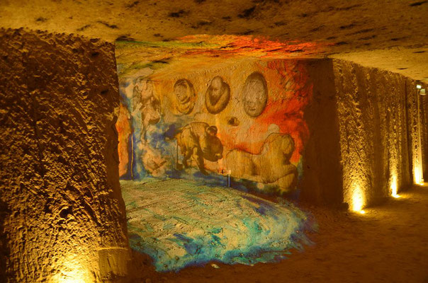 Le Champ du Pré - Chambre d'hôtes Sologne Val de Loire - A faire : Découverte des vins de Touraine aux Caves Monmousseau de Montrichard