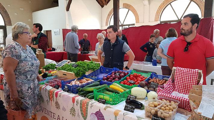 Le Champ du Pré - Chambres d'hôtes entre Sologne et Val de Loire - Marché de fermier a Valencay - SCEA BLAMATINE