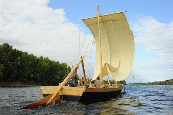 Le Champ du Pré - Chambre d'hôtes Sologne Val de Loire - A faire : une balade en bateau traditionnel de Loire avec les Marins du Port de Chambord