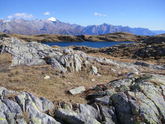 Pass Cristallina und Lago Retico