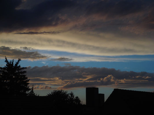 Himmel Oerlikon Skyline