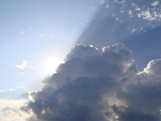 Wolkenstrahl