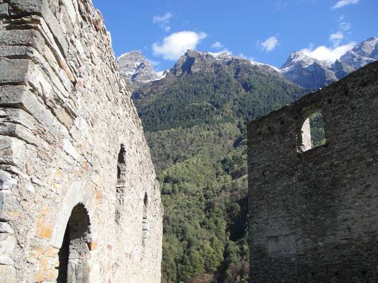 Castello Mesocco Gebäude