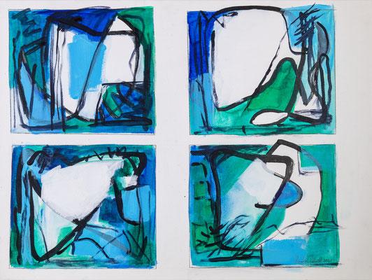 Studie Grün-Blau-Weiss