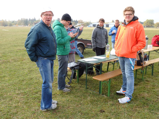 Der Tisch der Linienrichter. Foto: jkob