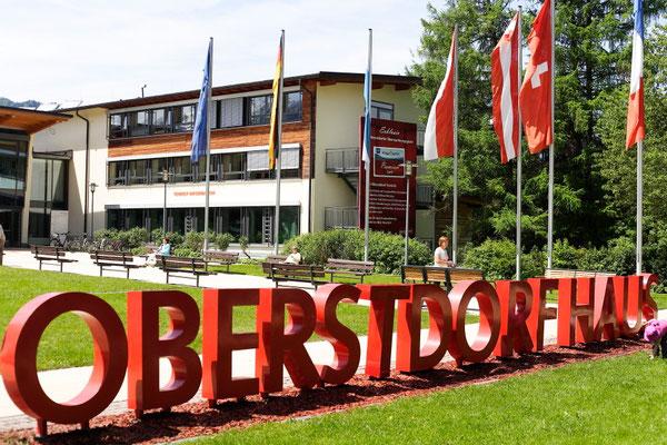 Der zentrale Punkt in Oberstdorf. Foto: PE